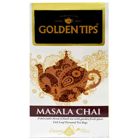 Masala Chai Full Leaf Pyramid - 20 Tea Bags, 40g