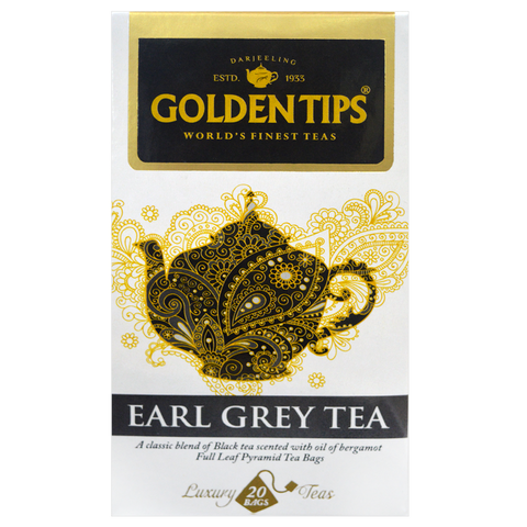 Earl Grey Full Leaf Pyramid - 20 Tea Bags, 40g