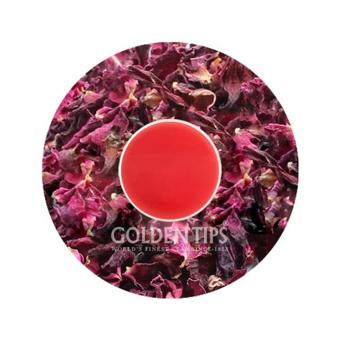 Hibiscus Rose Black Tea - Golden Tips Tea (India)