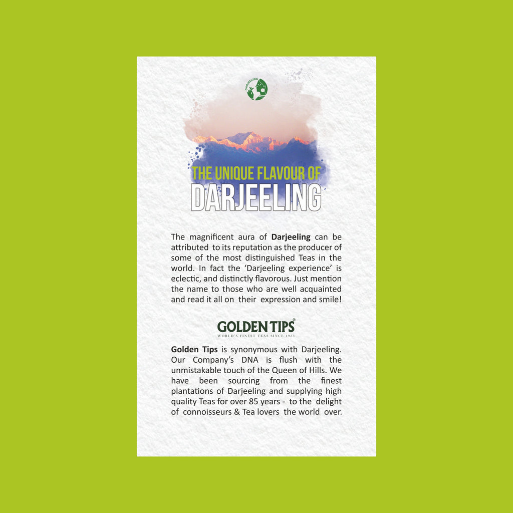 Green Tea Sampler Pack - Golden Tips Tea (India)