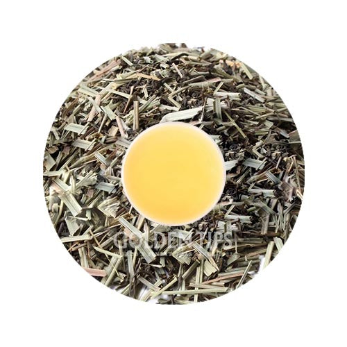 Lemon Grass Green Tea - Golden Tips Tea (India)