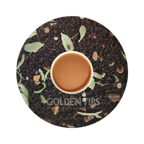 Masala Chai - India's Authentic Spiced Tea - Golden Tips Tea (India)