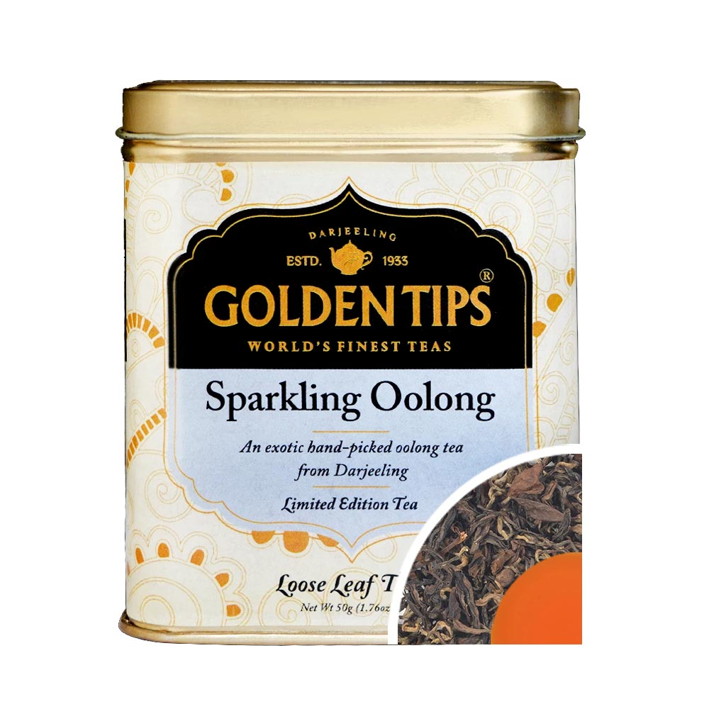 Sparkling Oolong Tea - Tin Can - Golden Tips Tea (India)