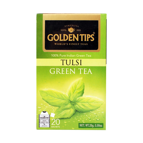 Tulsi Green - Tea Bags - Golden Tips Tea (India)