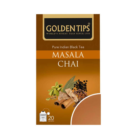 Masala Chai Envelope - Tea Bags - Golden Tips Tea (India)