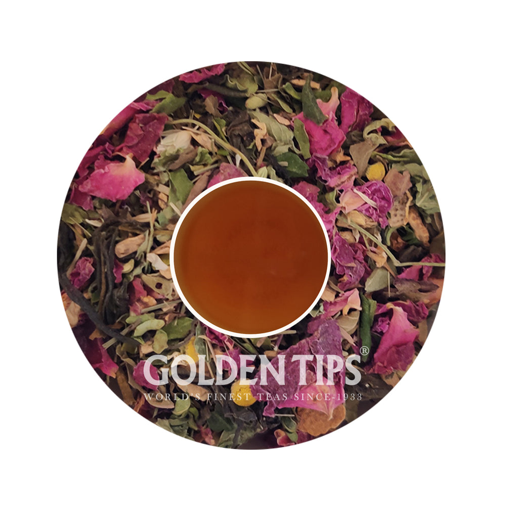 Potent Potpourri Moringa  Green Tea - Golden Tips