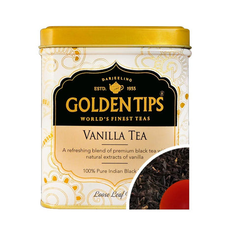 Vanilla Flavoured Black Tea - Tin can