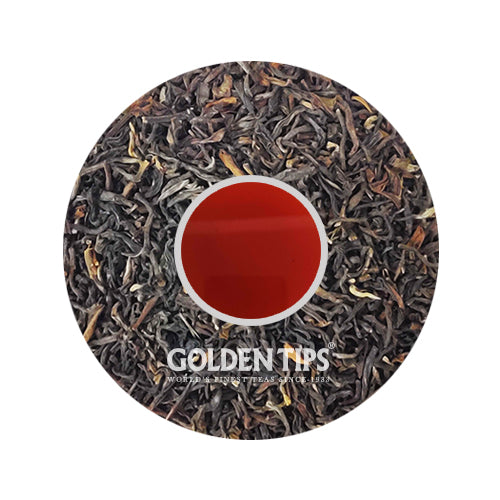 Peach Flavoured Black Tea - Golden Tips Tea (India)