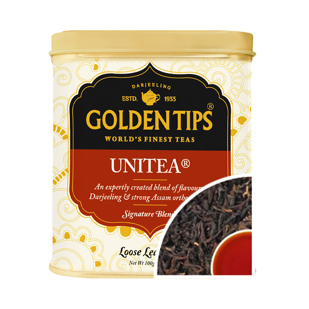 Unitea - Tin Can - Golden Tips Tea (India)