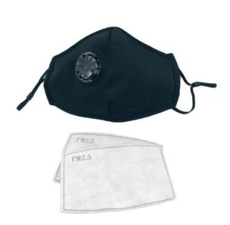 Reusable Cloth Face Mask + 2 Free Filters