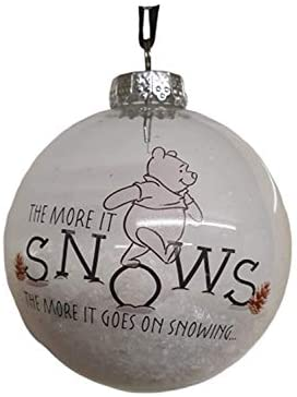 The more it snows Hanging Decoration