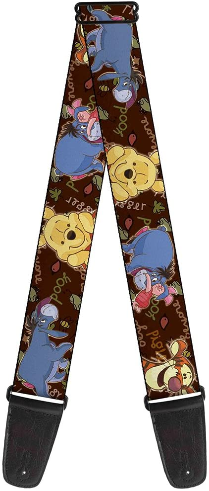 Winnie the Pooh Characters Guitar Strap