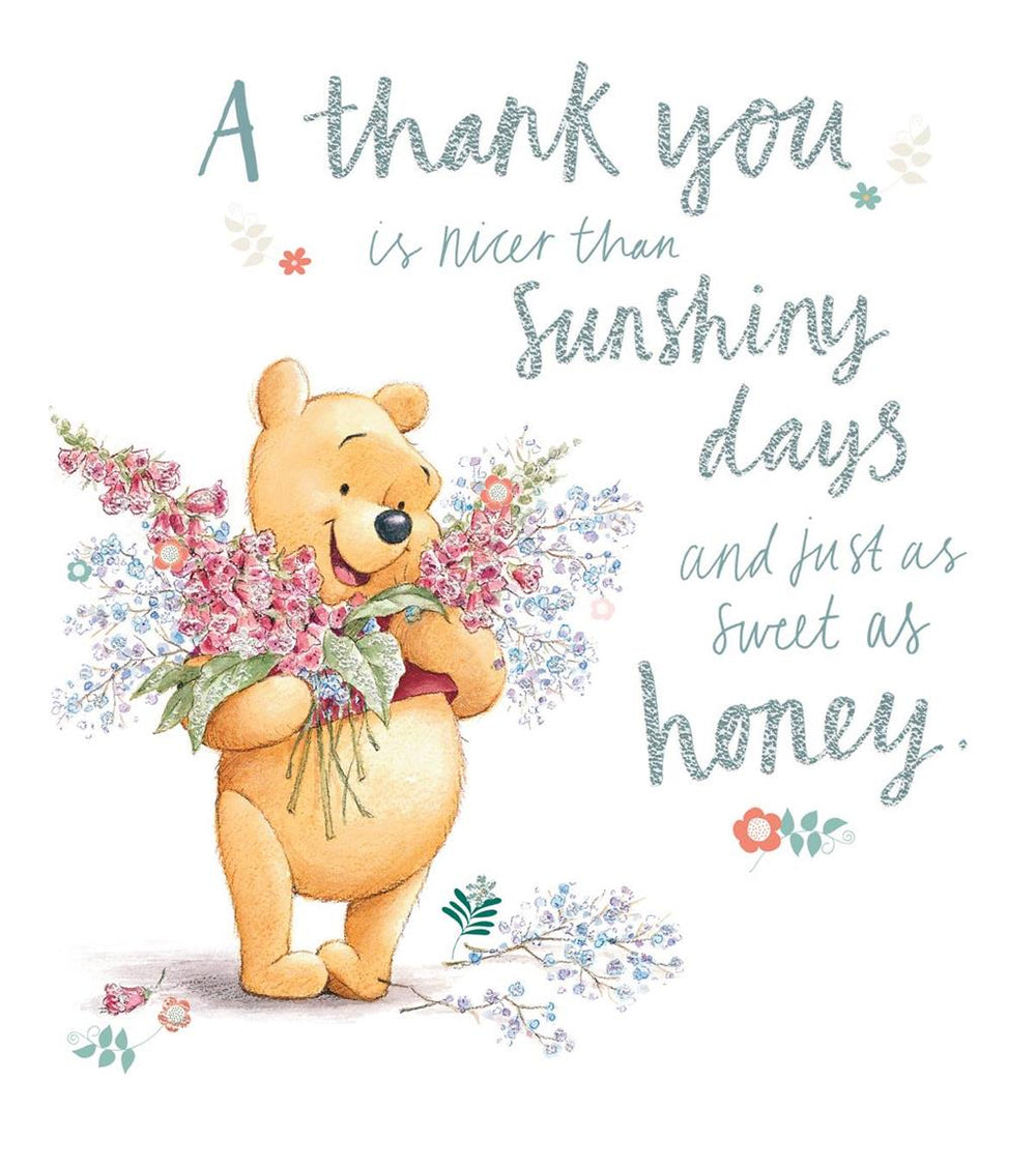 Sunshiny Days Thank You Card