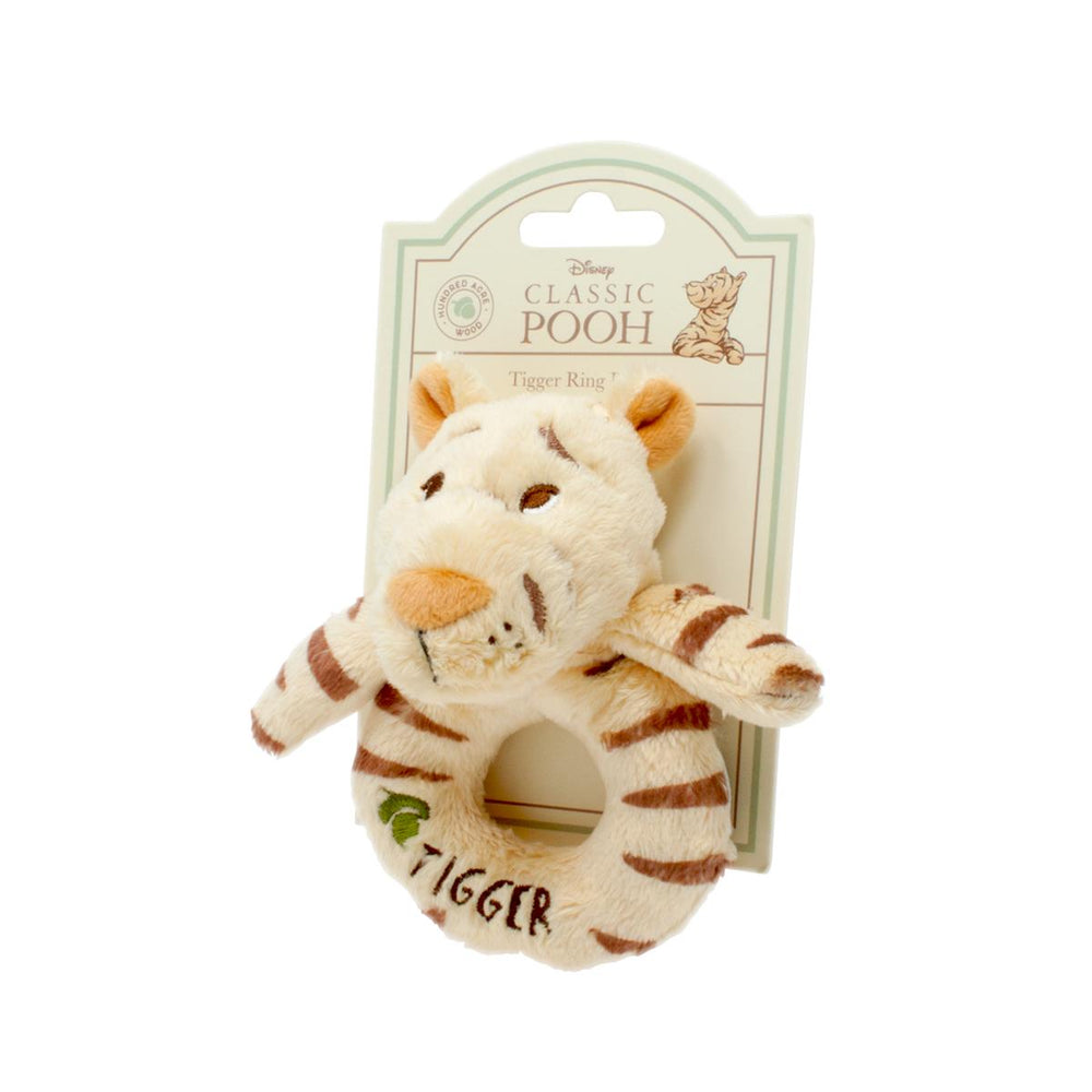 Hundred Acre Wood Tigger Ring Rattle