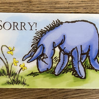 Message Card - Sorry!