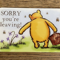 Message Card - Leaving!