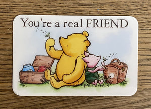 Message Card - Real Friend!