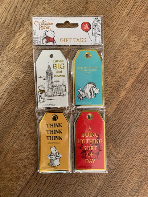 Christopher Robin 36 Gift Tags