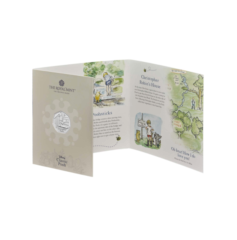 Royal Mint Christopher Robin Coin