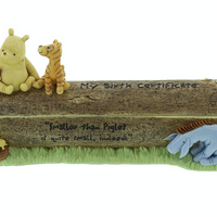 Classic Pooh Birth Certificate Holder