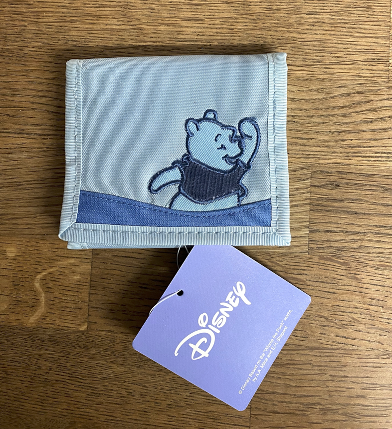 Blue Pooh Family Purse