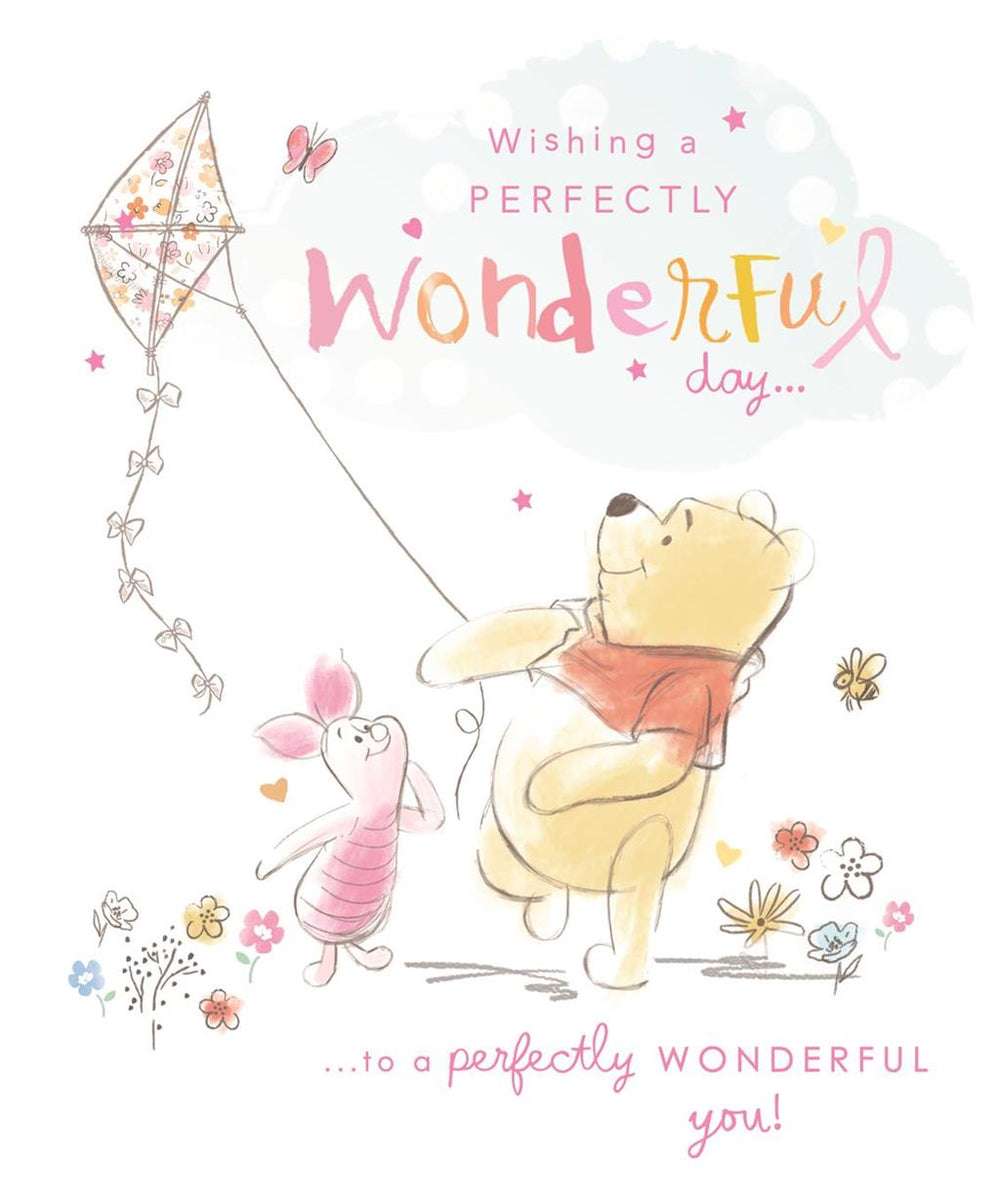 Wishing a Perfectly Wonderful Day Birthday Card