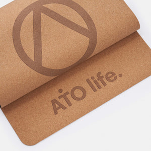 The Eco Mat - Cork and Natural Rubber (Vegan)