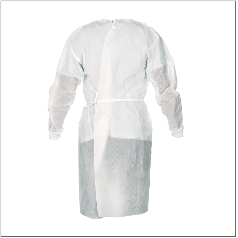 Isolation Gown 45 GSM SMS - 10 PC
