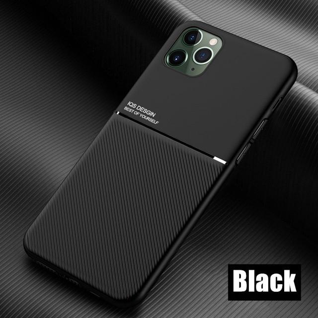 Soft Silicone Rubber Tempered Glass Phone Cover Compatible for iPhone 7 8 Plus X Xs 11 Pro Max XR SE 2020 Cow Print Black White Case Coque-1-Compatible for iPhone Xs