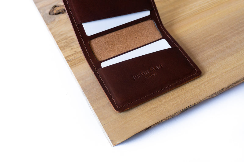 Burgundy Bifold Wallet