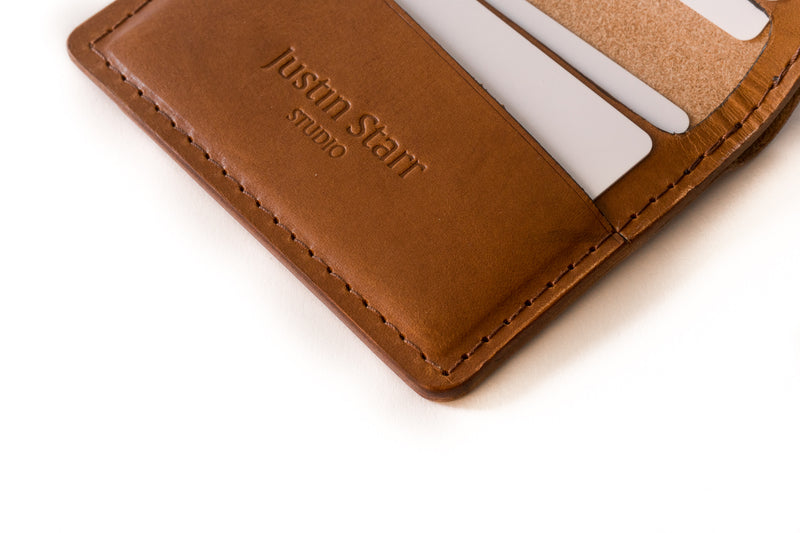 Whiskey Bifold Wallet