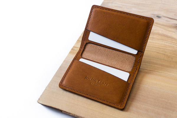 Bifold Wallet in Whiskey Buttero Leather