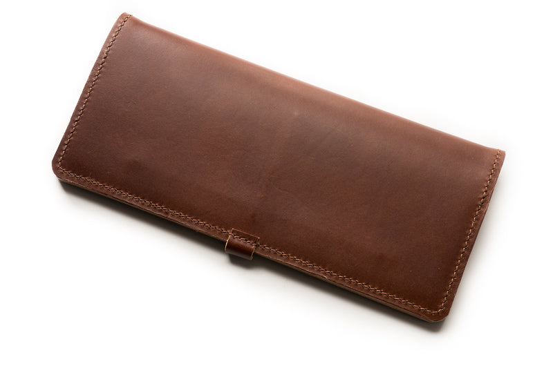 Burgundy Long Wallet