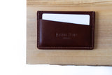 Burgundy Slim Wallet