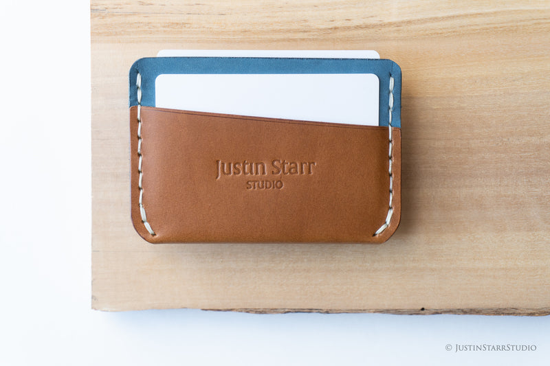 3 Pocket Whiskey & Nubuck Leather with White Stitching