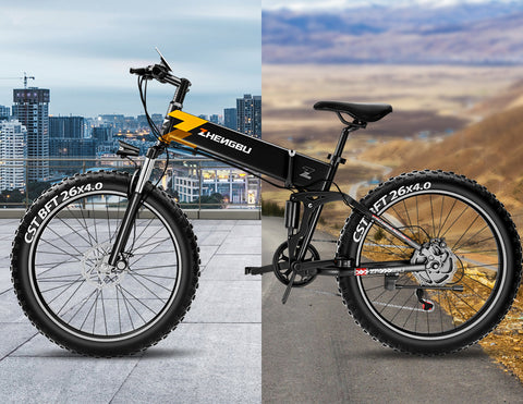 ZB H3 Foldable Electric Fat Bike -26 INCH