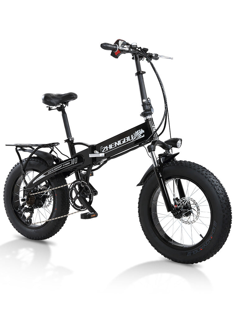ZB XB foldable fat tire bike -20 INCH