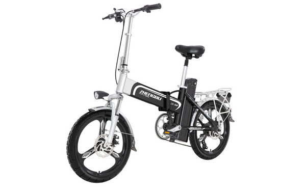 ZB X6 Dual-Battery Foldable Electric Bike