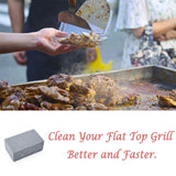 3PCS BBQ Cleaning Stone Non Slip Handheld Clean Brick