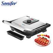 BBQ Grill Household Kitchen Appliances Barbecue Machine Grill Electric Hotplate Smokeless Grilled Meat Pan Contact Grill Sonifer