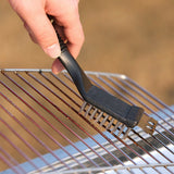 2 In 1 BBQ Grill Hanging Non Stick Steel WireCleaning Brush