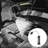 Camping LED Bulb 360 Degree Adjustable Magnetic Base Barbecue Accessories Grill Light USB Charging High Bright Work Flashlight