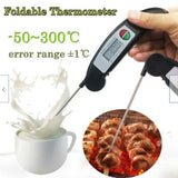 Kitchen Thermometer For Food BBQ Turkey Electronic Cooking Thermometer Probe Meat Water Milk Meat Thermometer Kitchen Tools