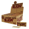 Raw Perforated Wide Tips (Box of 50)