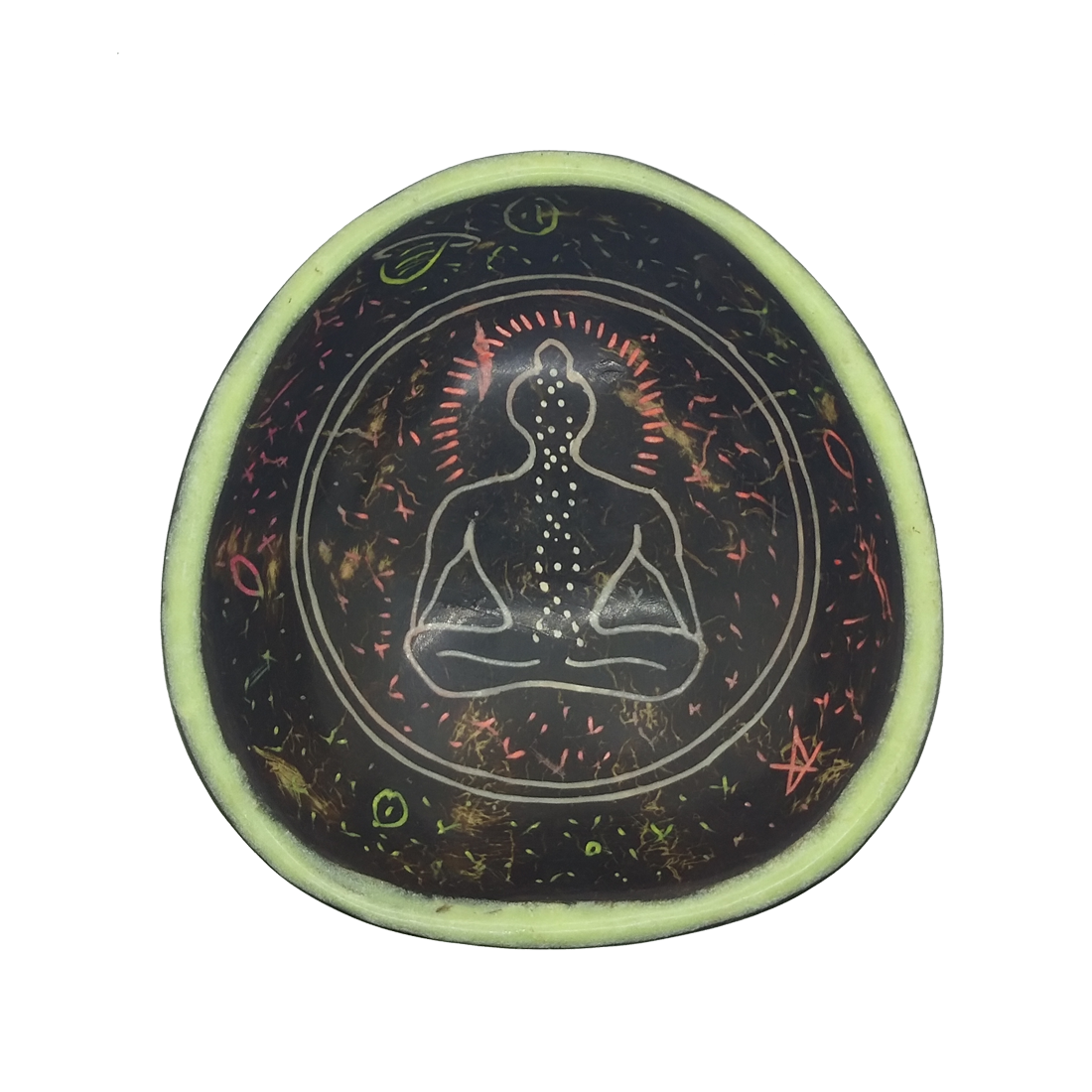 Chakra Monk Glow In the Dark Mixing Bowl
