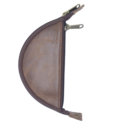 Pouchz - Element Wood Handcrafted Leather Rolling Pouch
