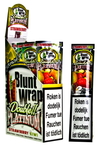 Double Platinum Blunt Wraps (Red) - Slimjim Online