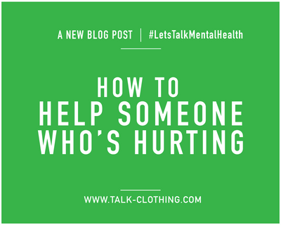How to help someone who's hurting