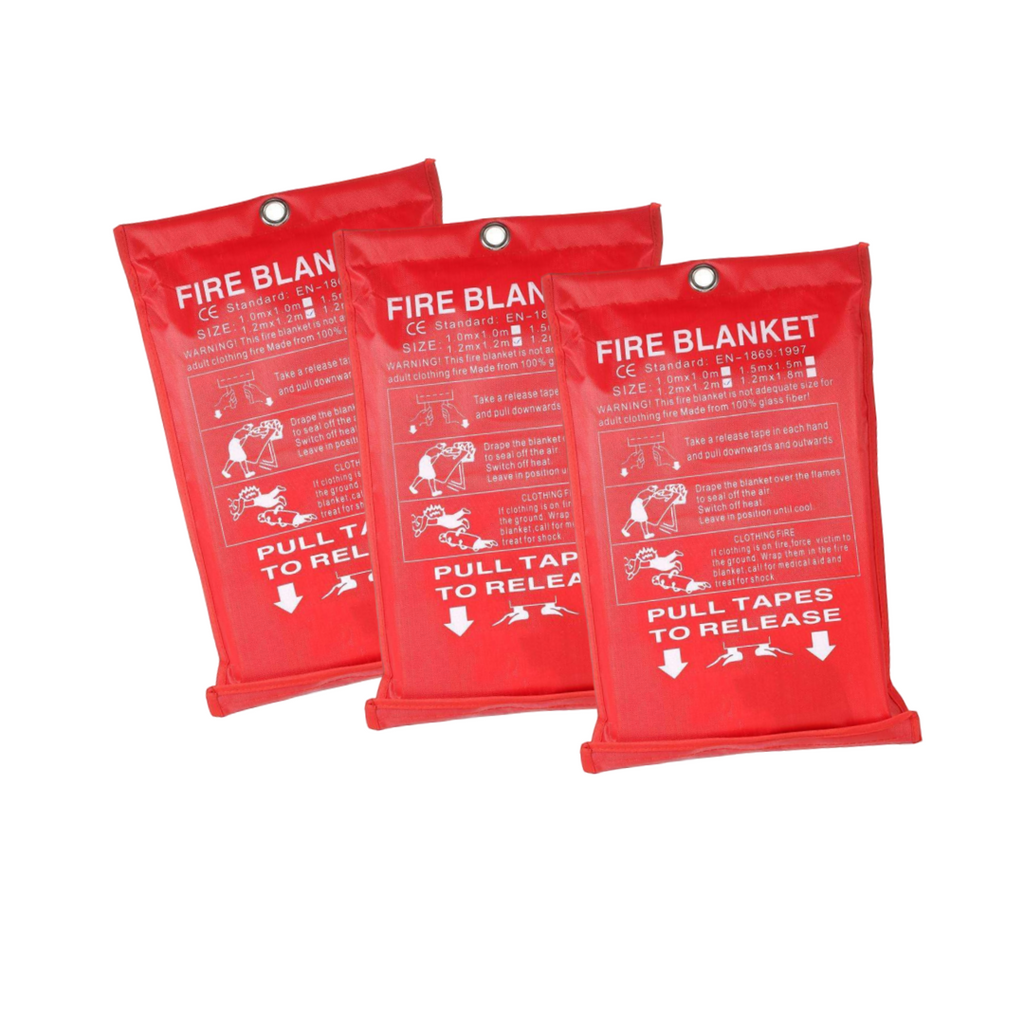 3x  FireDepend™️ Fire Blanket