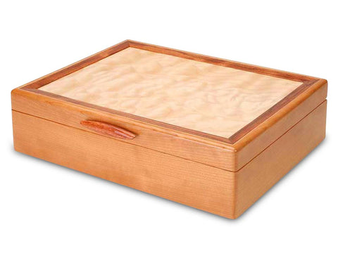 Angled View of a Cascade I Jewelry Box Pearl